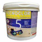 Cloro tabletas 5 acciones Tecnoclor